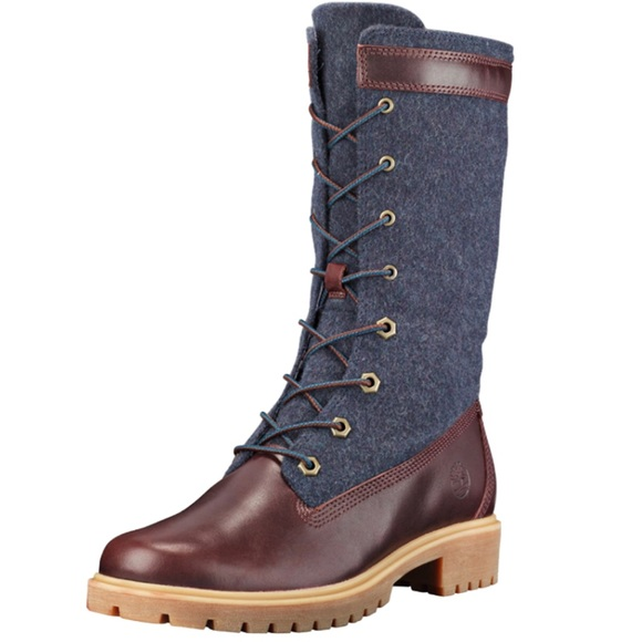great look distinctive style skilful manufacture Timberland Jayne Gaiter Waterproof Boots Burgundy NWT